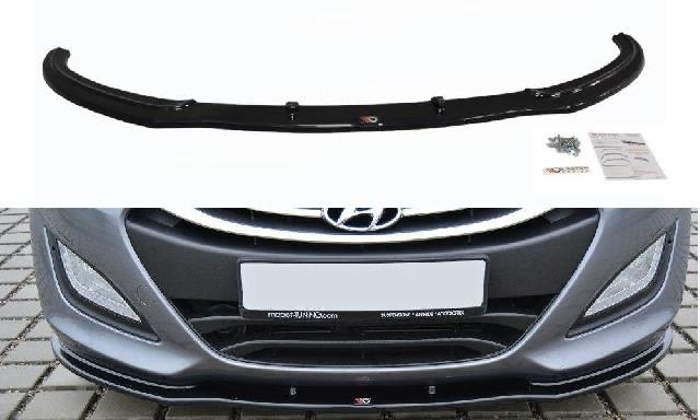 FRONTDIFFUSOR Hyundai i30 mk.2 Schwarz