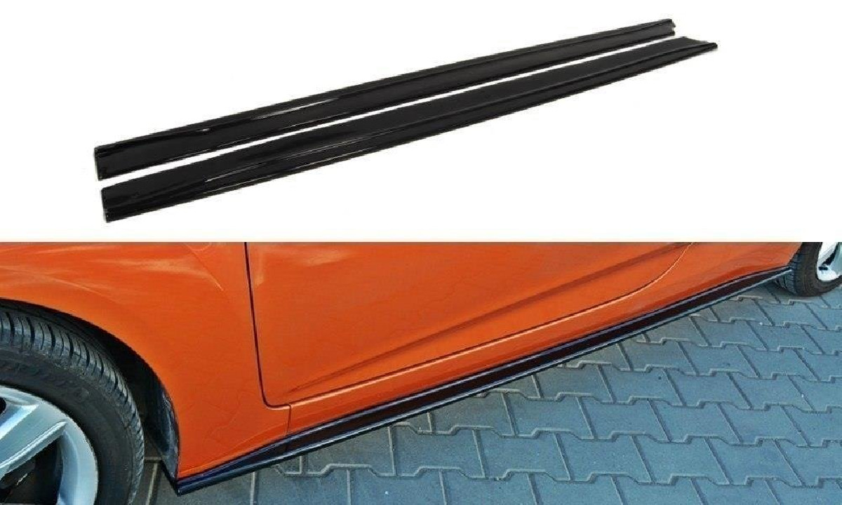 Seitenschweller Difuser Veloster Carbon look