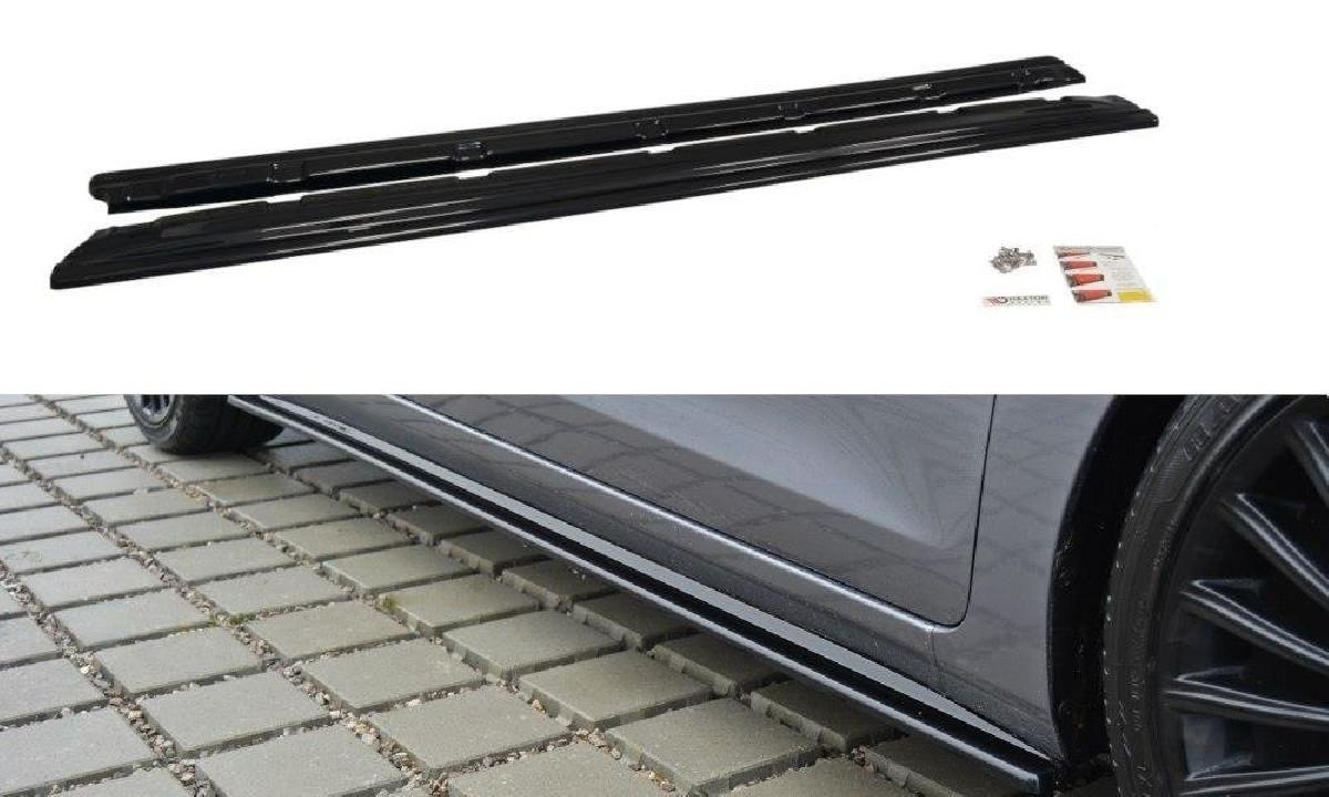 SEITENSCHWELLER DIFFUSOR Hyundai i30 mk.2 Carbon Look