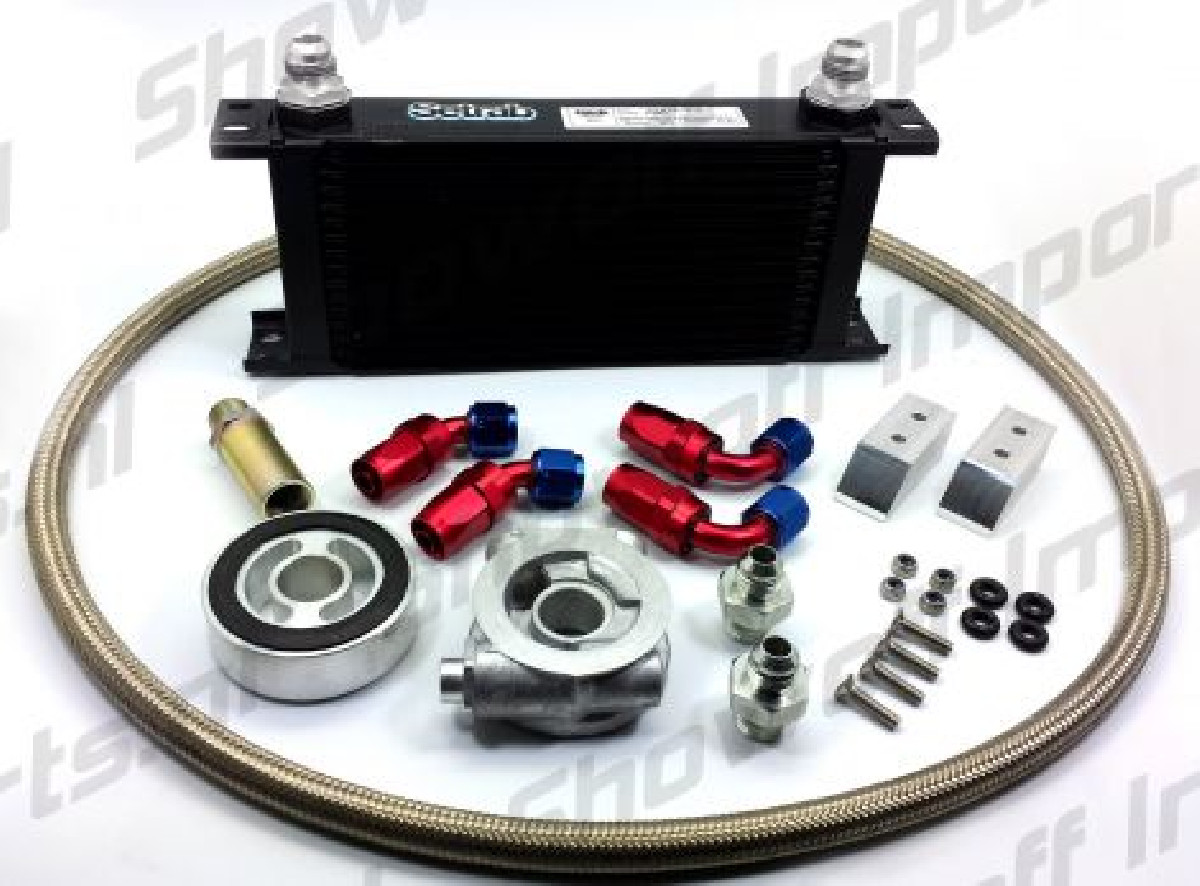 Subaru BRZ Oil Cooler Kit HEL / MOCAL 16 Row