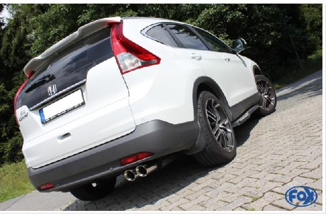 Honda CR-V IV Endschalldämpfer - 2x90