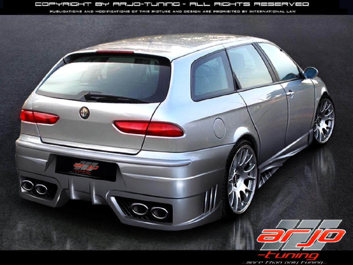 Alfa Romeo 156 Rearbumper