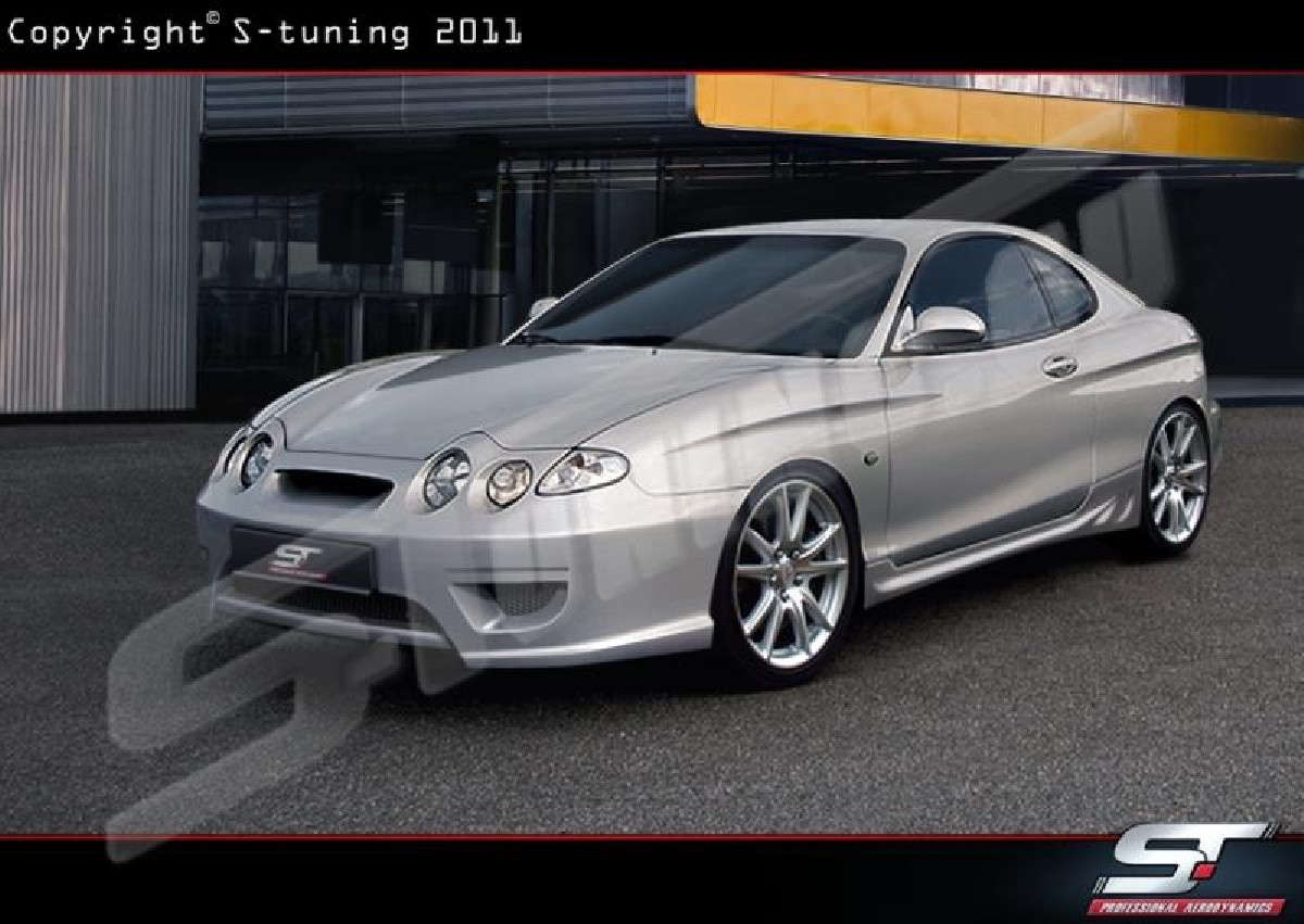 Hyundai Coupe  Frontstossstange