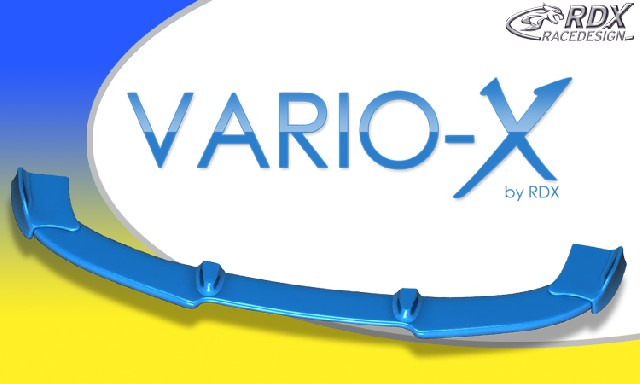 RDX Frontspoiler VARIO-X TOYOTA Aygo 2009+ Frontlippe Front Ansatz Vorne Spoilerlippe