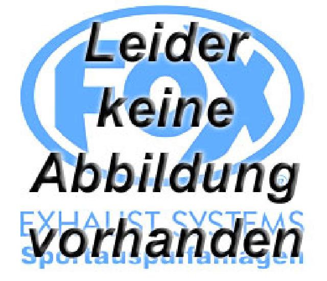 VW Touareg Typ 7L Verbindungsrohr doppelflutig KAT/ ESD