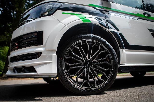 Verbreiterungen VW T6 Transporter ab 2016