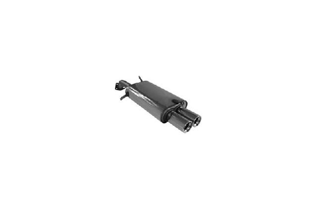 FOX Volvo V40/ S40  Endschalldämpfer  - 2x80 Typ 13