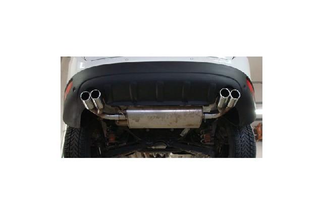 FOX Volvo XC60  Endrohre rechts/links passend auf den originalen Endschalldämpfer - 2x76 Typ 13 rechts/links