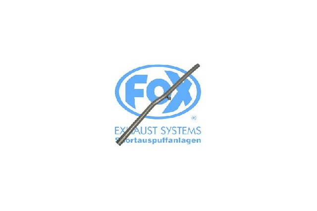 FOX VW Polo 86C  Vorschalldämpferersatzrohr