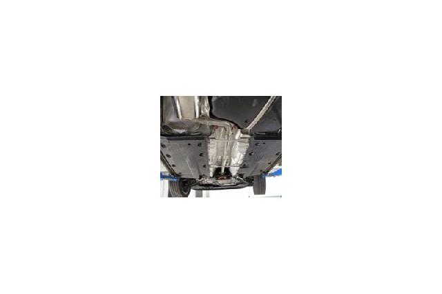 FOX VW Golf V TSI  Verbindungsrohr Mittelschalldämpfer/KAT - Rohrdurchmesser: 70mm