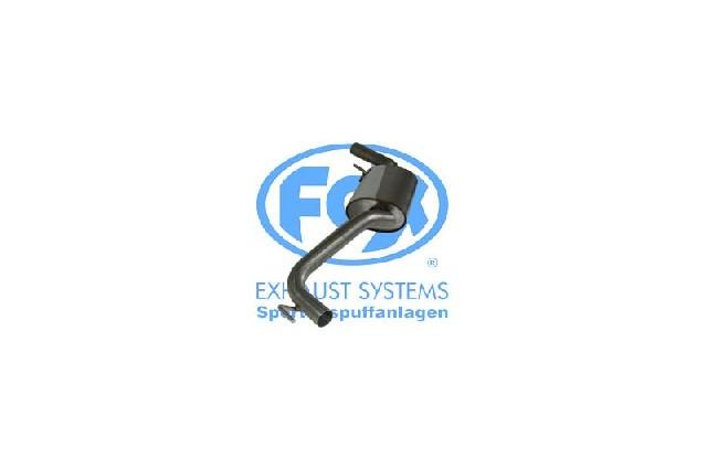 FOX VW Bus T4 Syncro  Vorschalldämpfer