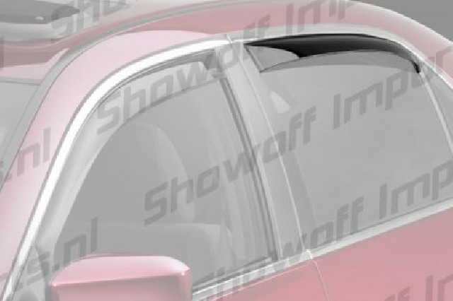 Honda FR-V 05+ Climair Window Visors Rear