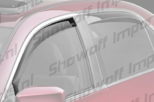 Honda FR-V 05+ ClimAir Window Visors Front Set