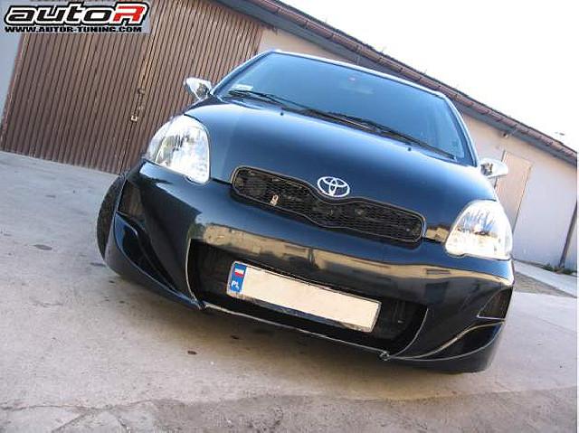 Toyota Yaris 03-05 Frontstoßstange